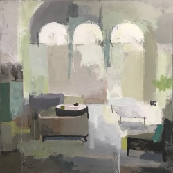 """Living Room 5, 36"""" x 36"""" acrylic on canvas. Available."""
